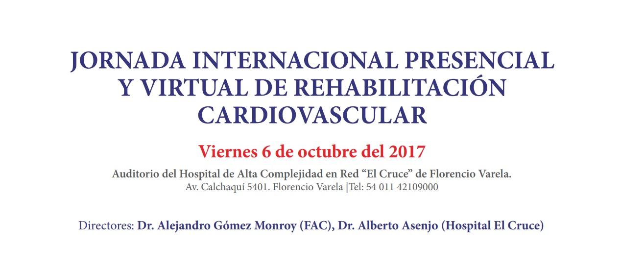 Jornada Internacional de Rehabilitación Cardíaca - INVITACIÓN GRATUITA -