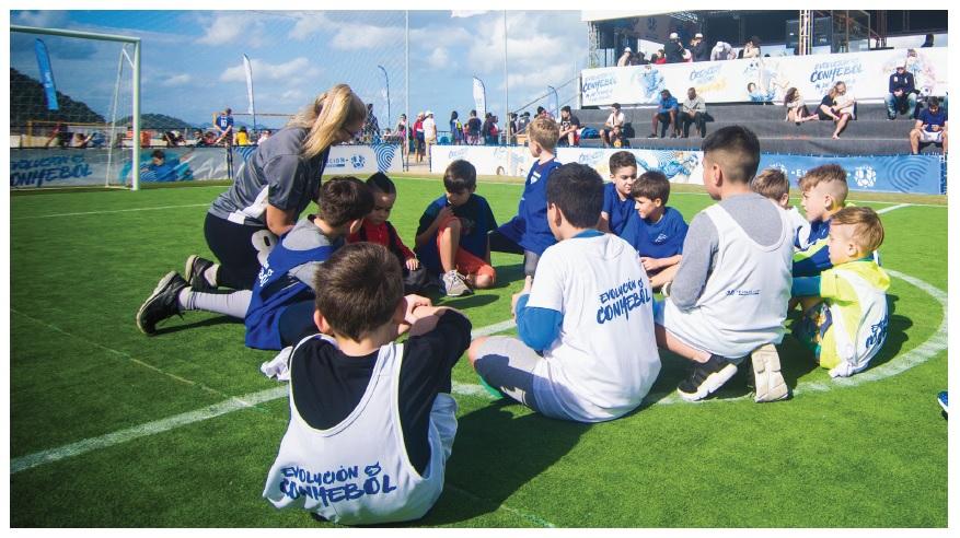 El perfil del docente deportivo en el fútbol infantil