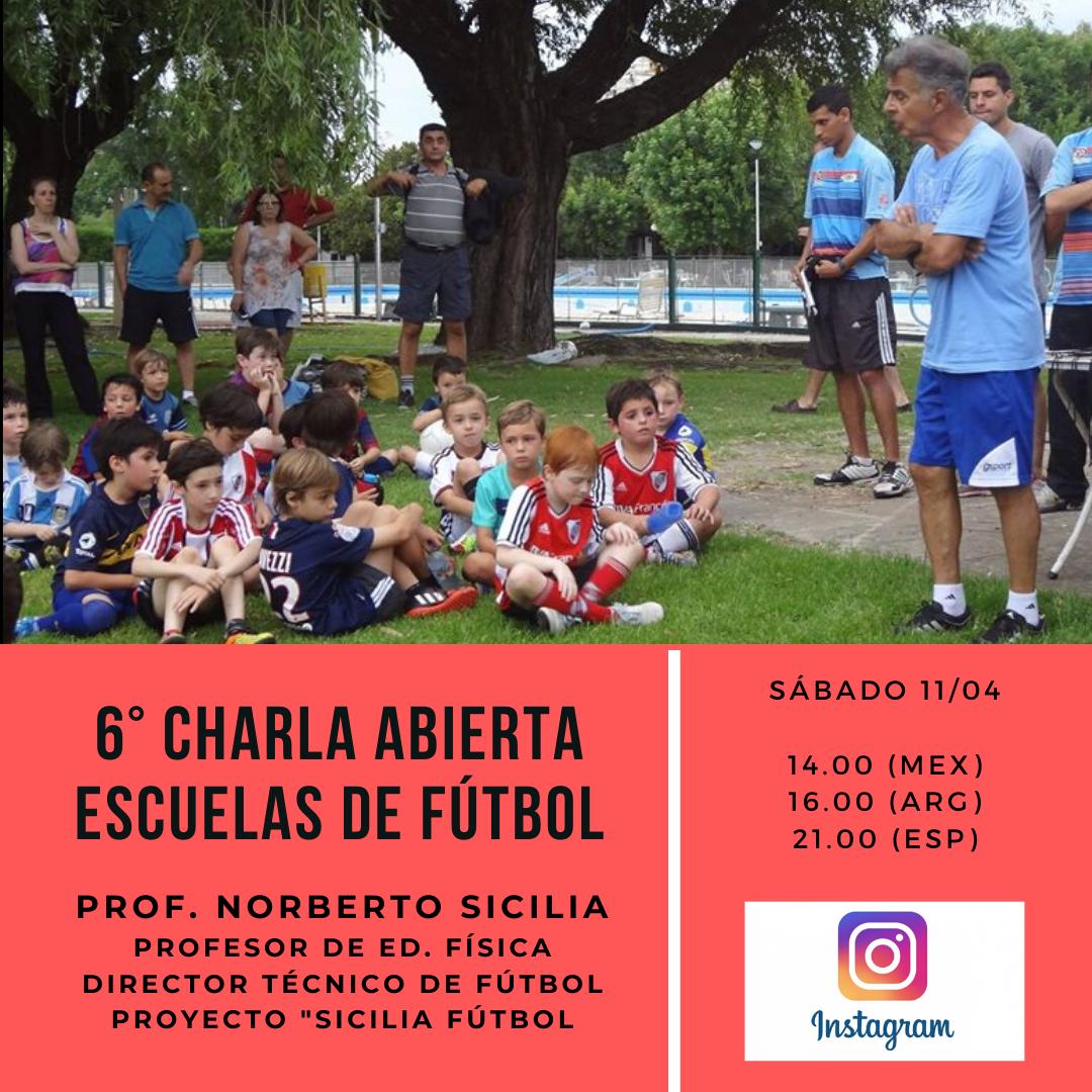 """Capacitación """"Escuelas de Fútbol"""""""