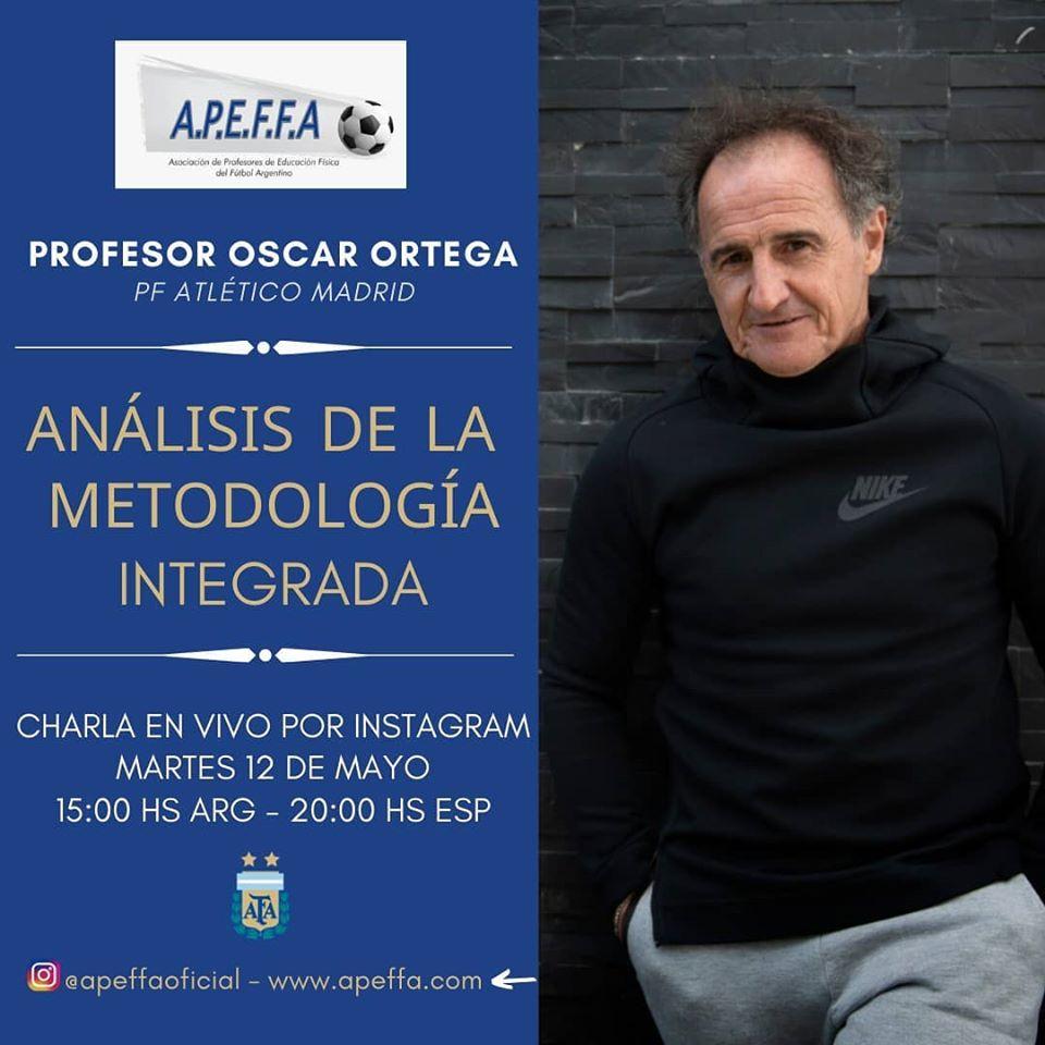 Metodología Integrada - Prof. Oscar Ortega (PF Atlético de Madrid)