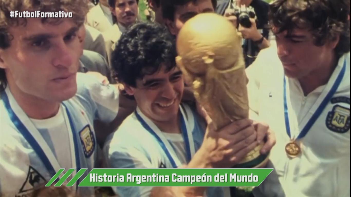 Argentina campeón del mundo (1978-1986)