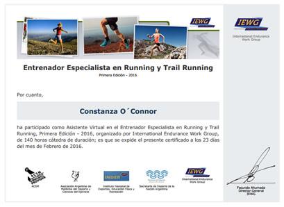 Certificación en Entrenador Especialista en Ciclismo de Ruta y Mountain Bike
