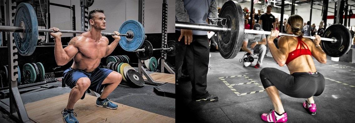 Efecto de la fuerza sobre la velocidad y potencia durante el ejercicio de sentadilla con barra atrás en hombres entrenados en fuerza y mujeres